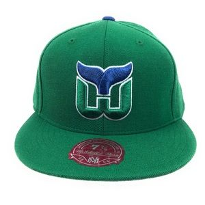 Hartford Whalers Mitchell & Ness Fitted Hat Cap